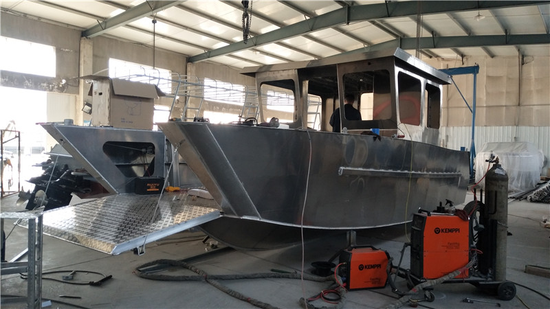 Abelly received second order of 8.5m aluminum Landing Craft