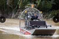 16ft Aluminum Airboat with 454 HP Motor